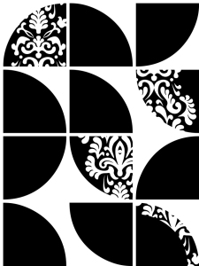 Jumbo MidCentury Fusion repeat pattern